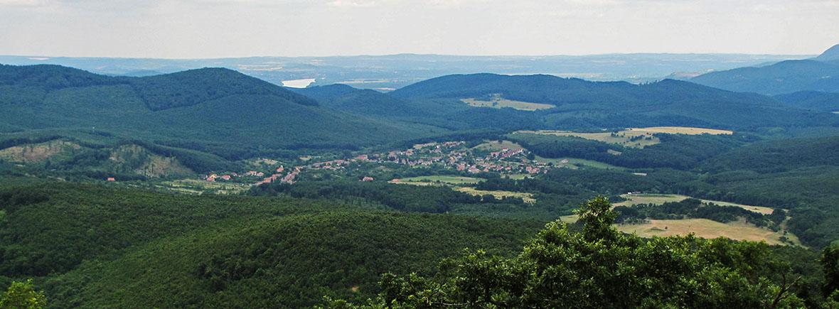Börzsöny-hegység tájkép